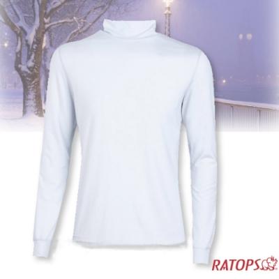 瑞多仕 男款 VILOFT 高領彈性保暖衣_DB4645 象牙白色
