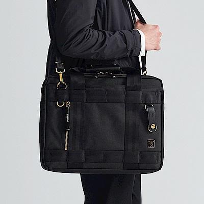 PORTER - 經典新進化NEW HEAT手提斜背兩用公事包  - 黑