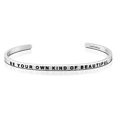 MANTRABAND Be Your Own Kind Of Beautiful 銀色