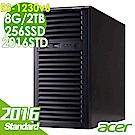 Acer T110 F4 E3-1230v6/8G/2T+256/2016STD