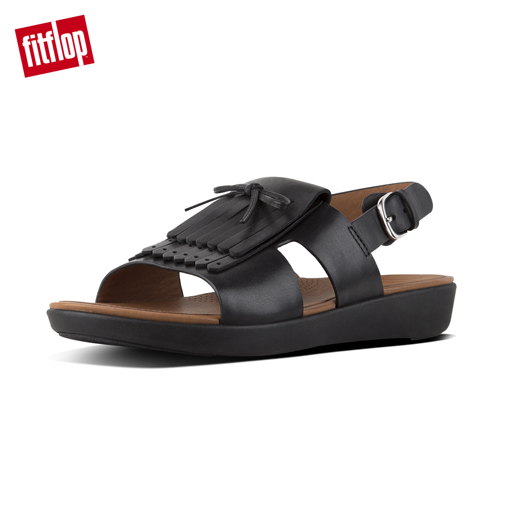 FitFlop H-BAR後帶涼鞋黑色