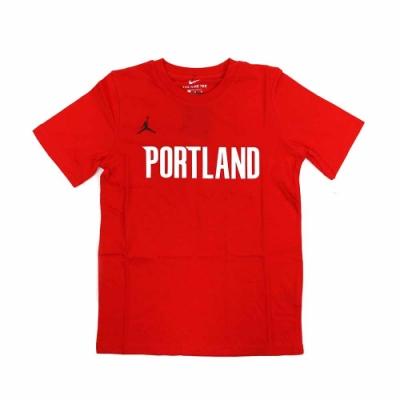 NIKE NBA Statement Edition 青少年 短袖T恤 拓荒者隊