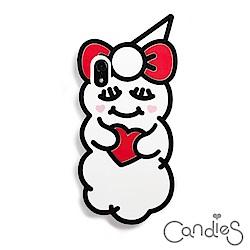 Candies 睡眠雲寶寶(愛心紅)-IPhone Xs Max 6.5吋適用