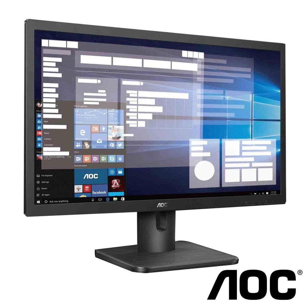 AOC 22E1H 21.5吋 (16:9) 22型 不閃屏電腦螢幕