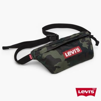 Levis 男女同款 腰包 重軍裝迷彩 Box logo