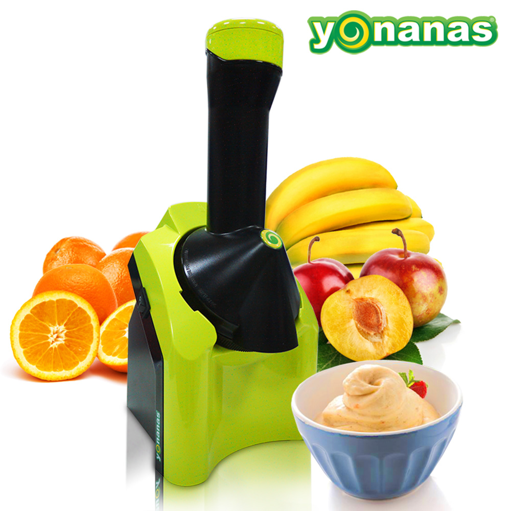 Yonanas 天然健康 水果冰淇淋機【kiwi青】