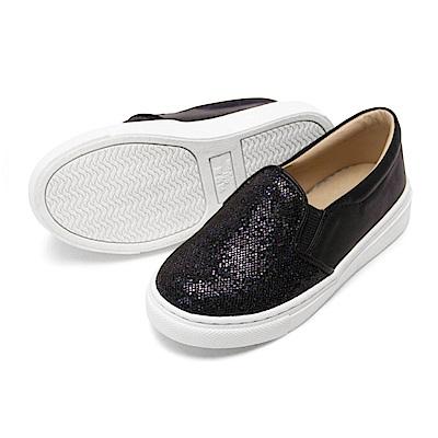 BuyGlasses 星辰煥彩童便鞋-黑