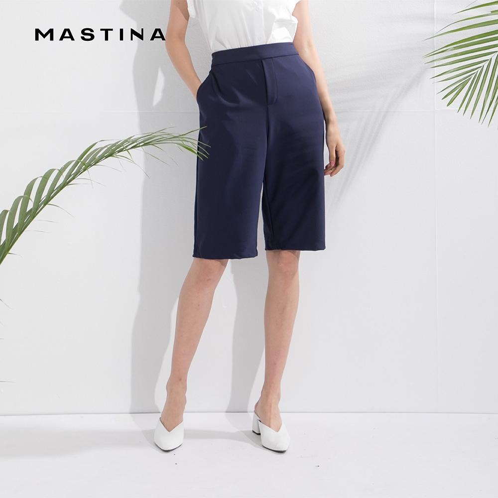 【MASTINA】上班族優雅修身-短褲(二色)
