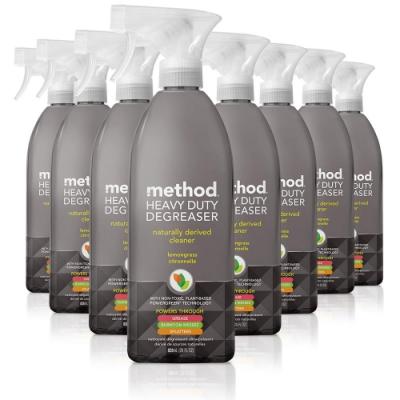 【箱購】Method美則重油污降解清潔劑828mlx8罐