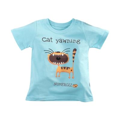 魔法Baby 男童裝 台灣製春夏款兒童純棉短袖T恤  k51585
