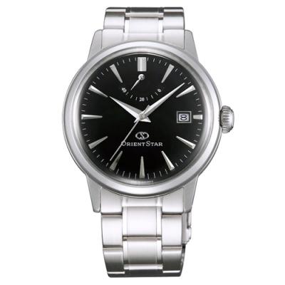 ORIENT 東方錶 東方之星動力儲存機械手錶SEL05002B-黑X銀/39mm