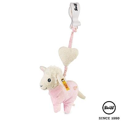 STEIFF德國金耳釦泰迪熊 - 吊掛式 棉羊咩咩 (嬰幼兒搖鈴)