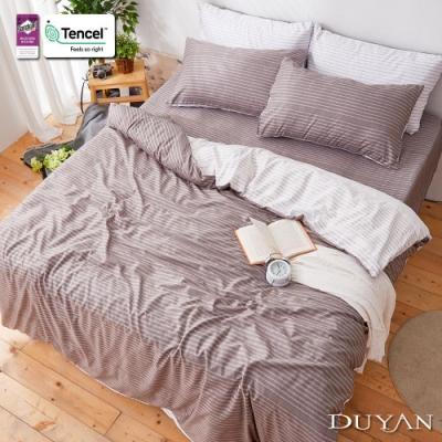 DUYAN竹漾-3M吸濕排汗奧地利天絲-雙人床包被套四件組-夜訪羅塞城