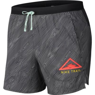 NIKE 短褲  男款 休閒 慢跑 運動 黑 CQ7950010 AS M NK FLX STRIDE SHORT 5 TR