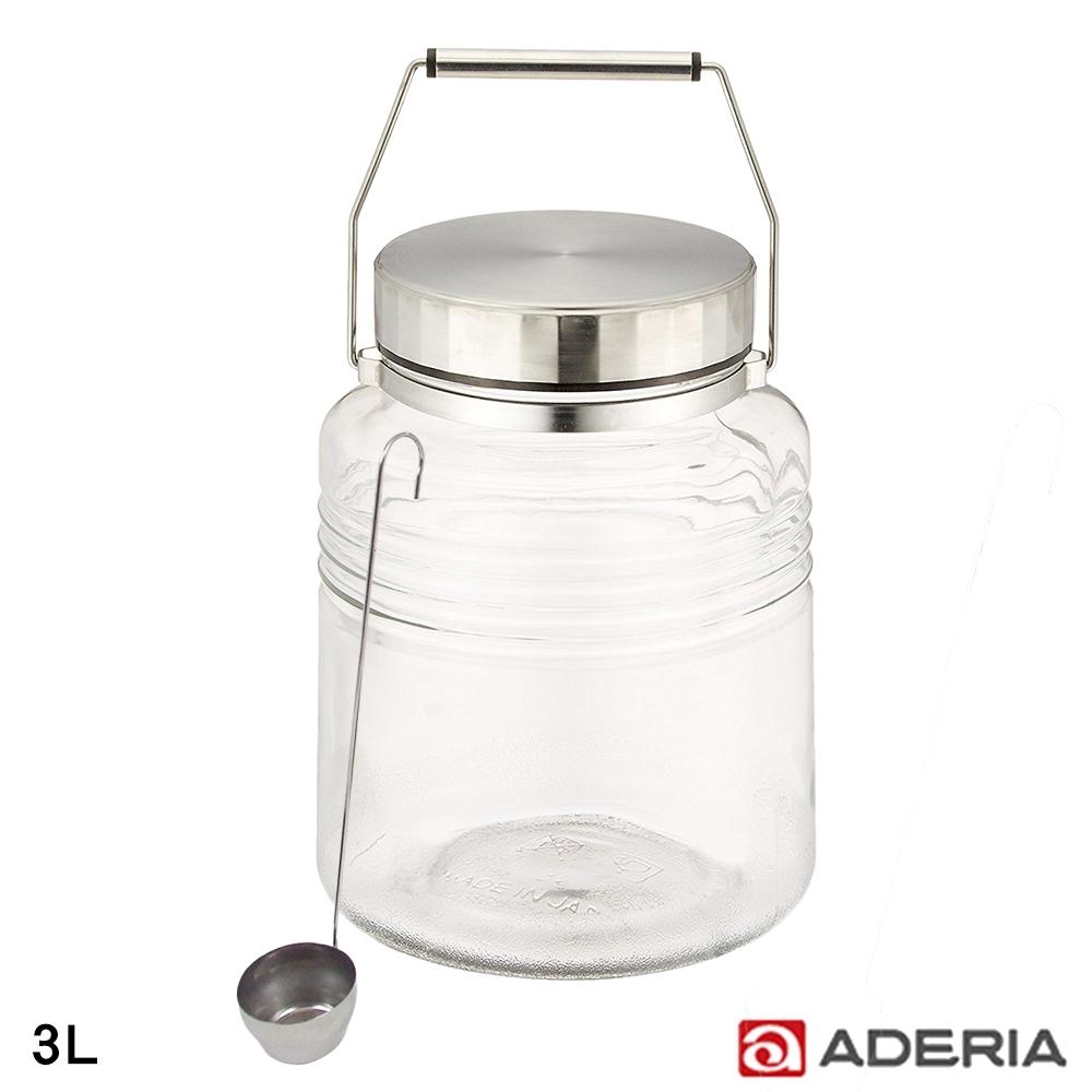 ADERIA 日本進口時尚玻璃梅酒瓶 3L