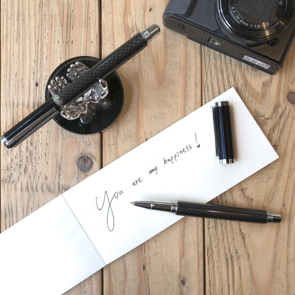 ARTEX 尊爵寬版鋼珠筆 碳纖維