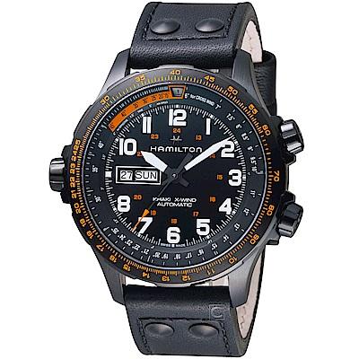 Hamilton 漢米爾頓 Khaki X-Wind御風者自動腕錶(H77785733)
