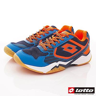 Lotto樂得-阿波羅專業羽球鞋-SI906藍(男段)