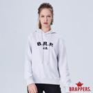BRAPPERS 女款 美式休閒LOGO印花帽T-灰