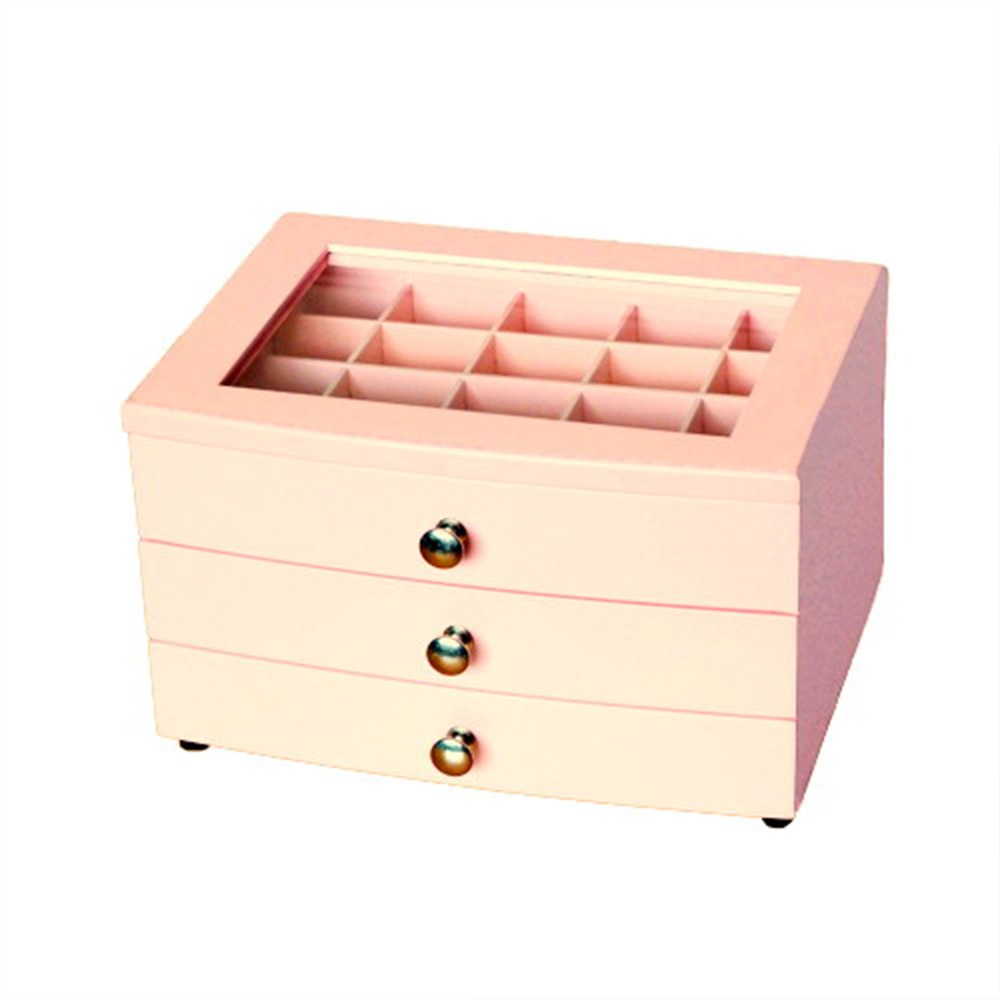 日式紅粉佳人-AccessCo- 首飾珠寶收藏箱-BF-JW08PK