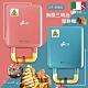 義大利Giaretti二合一熱壓三明治鬆餅機GT-SW01(藍綠色/玫瑰粉) product thumbnail 1
