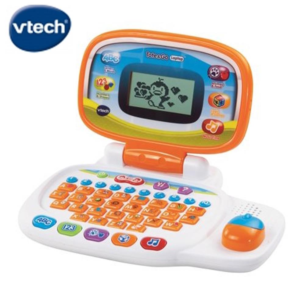 【Vtech】兒童智慧學習小筆電(白)