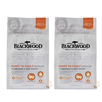柏萊富 功能性全齡護膚亮毛配方 (羊肉+糙米) 5磅 兩包組