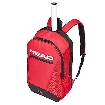 HEAD Core系列 球具球拍專用後背包-紅黑 283539
