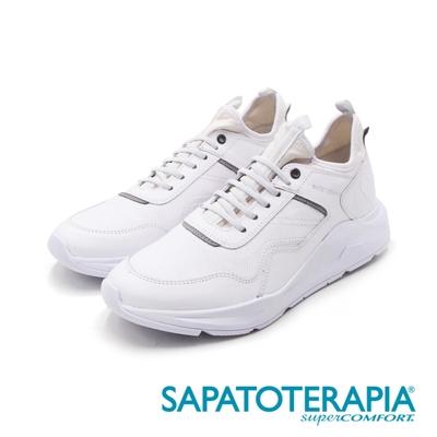 SAPATOTERAPIA(男)BRANCO百搭運動風休閒鞋 男鞋-白(另有藍)