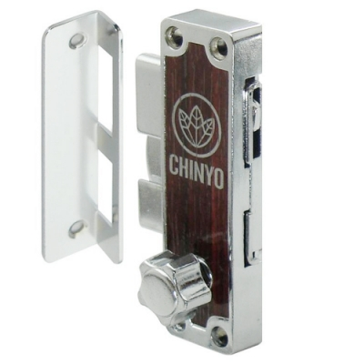 6800 青葉牌 1200型鋁門鎖 AT鑰匙(十字鎖)鎖管長38mm 鋁門平鉤鎖 鋁門鎖