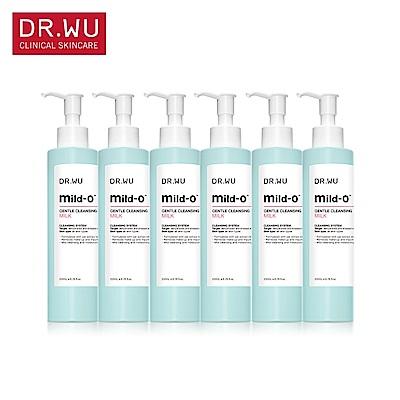 [買3送3] DR.WU溫和潔淨卸妝乳200MLX6入