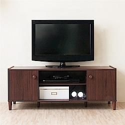 《HOPMA》DIY巧收原木系二門電視櫃-寬119 x深40 x高47cm