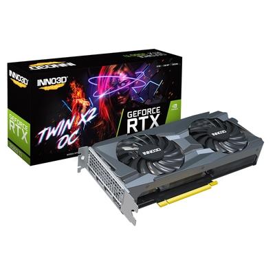 INNO3D 映眾 GeForce RTX 3060TI 8GB GDDR6 TWIN X2 OC LHR 顯示卡