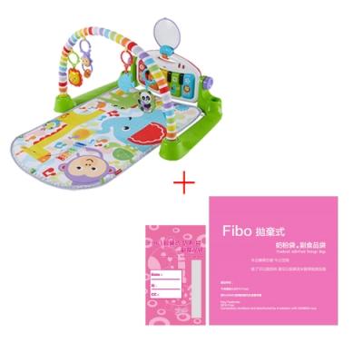 費雪可愛動物小鋼琴健身器+Fibo拋棄式奶粉袋/副食品袋(10入/包)