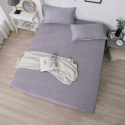 岱思夢 加大100%天絲床包枕套三件組 一抹心念-咖
