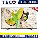 福利品-TECO東元 43吋 真4K Smart 液晶顯示器+視訊盒 TL43U1TRE