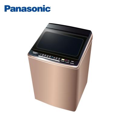 [時時樂限定] Panasonic國際牌 15KG 台灣製 變頻雙科技溫水直立式洗衣機 NA-V150GB-PN