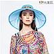 HOII光美肌-后益先進光學布機能美膚光花樣法式圓筒帽(藍光)