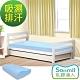 Sonmil乳膠床墊 單人3.5尺7.5cm乳膠床墊+乳膠枕超值組-3M吸濕排汗型 product thumbnail 1