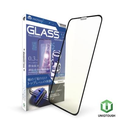 UNIQTOUGH iPhone 11ProMax/XsMax 超強抗藍光9H滿版鋼化玻璃