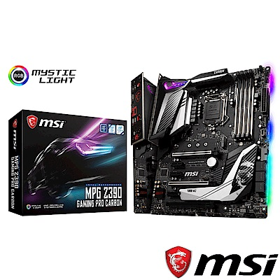 MSI微星 MPG Z390 GAMING PRO CARBON 主機板