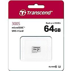 Transcend 創見 300S 64GB U1 microSDXC UHS-I 記憶卡