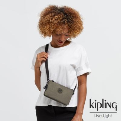 Kipling 炭焙濃韻綠三夾層配件包-CREATIVITY XB