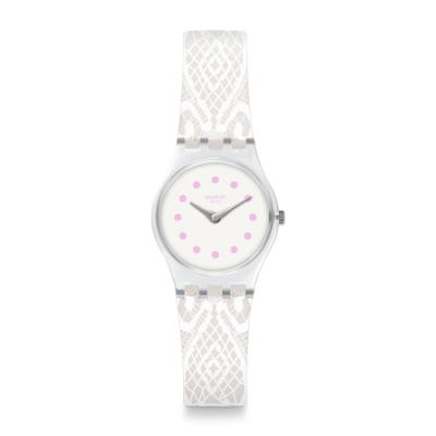 Swatch I love your folk系列手錶 DENTELLINA 優雅蕾絲