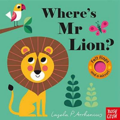 Where s Mr Lion? 獅子在哪裡?不織布翻翻書