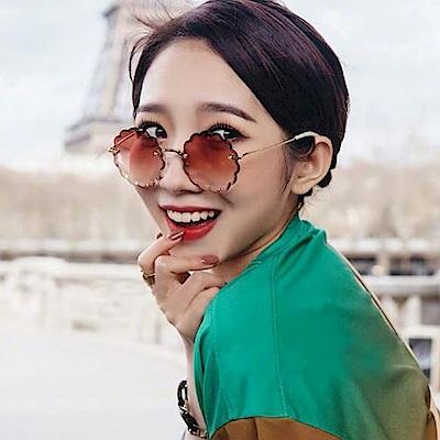 Chloe眼鏡 浪漫小花邊款/金-漸層粉 #CE142S 823