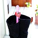 E.City_(買一送一)可調式草莓造型卡扣長短靴鞋撐 共10入