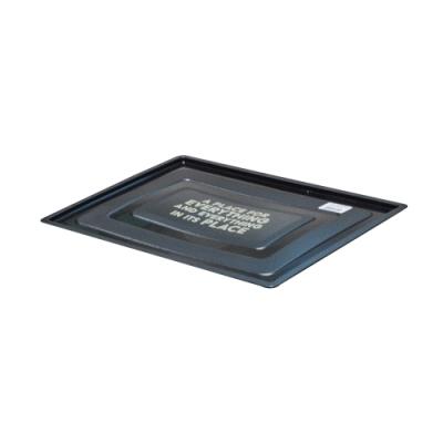 比利時EVOBOX摺疊收納籃32L專用蓋-黑色
