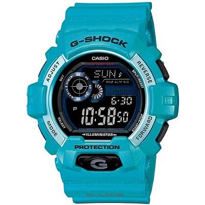 G-SHOCK 極限運動抗-20℃低溫男錶-亮藍(GLS-8900-2D)/32mm