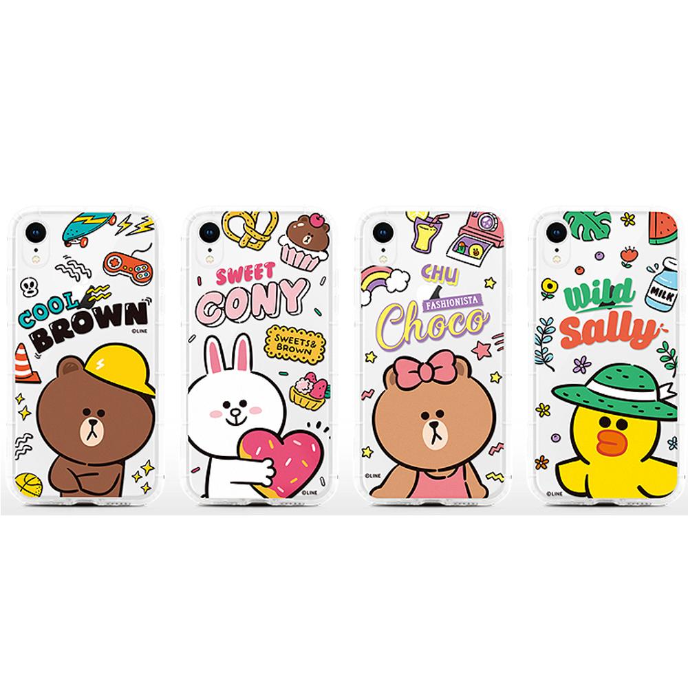 GARMMA LINE FRIENDS iPhone XS Max 防摔保護軟殼